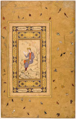 Homme lisant attribue a Muhammad Ali c RMN-Grand Palais musee du Louvre Mathieu Rabeau-png