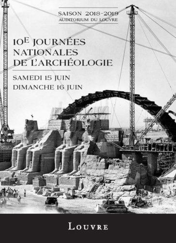 Affiche 10e Journées Nationales de l'Archéologie-jpg