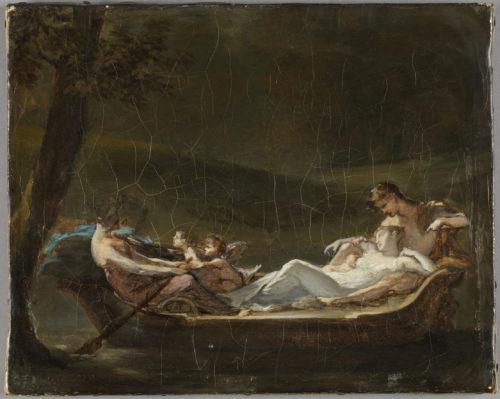 Esquisse pour Rêve du bonheur Prud'hon  © Musée du Louvre  / Philippe Fuzeau-jpg