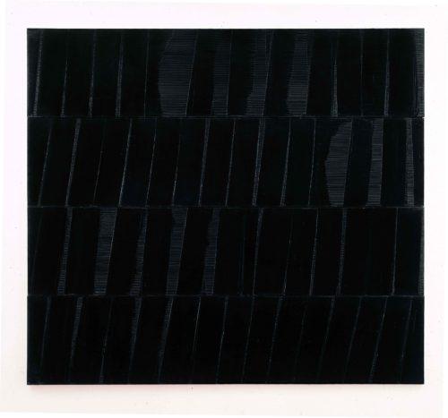 7_Pierre Soulages_Peinture. Polyptyque C_324 x 362 cm_1985_Paris, Musée National d'Art moderne-Centre Pompidou © Archives Soulages/ADAGP, Paris 2019