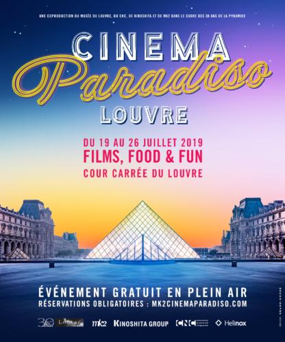 Affiche Cinéma Paradiso Louvre 2019-png