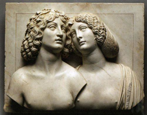 Tullio Lombardo_ Bacchus et Ariane Vienne Kunsthistorisches Museum  (c) DR-jpg