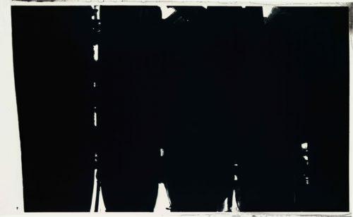 5. Pierre Soulages, Peinture, 220 x 366 cm, 14 mai 1968 © Archives Soulages © ADAGP, Paris 2019