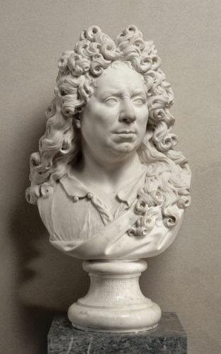 11. Antoine Coysevox, Autoportrait, 1679 © RMN-Grand Palais (musée du Louvre) / Hervé Lewandowski