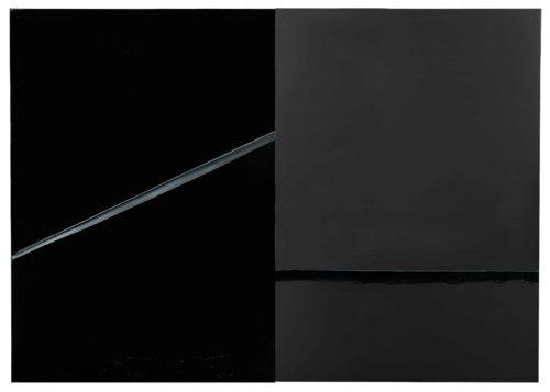 8. Pierre Soulages, Peinture, 222 x 314 cm, 24 février 2008 © Archives Soulages © ADAGP, Paris 2019