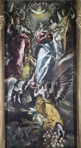 Greco_ Immaculée Conception_Musée de Santa Cruz Tolede Espagne  (c) Archives Alinari Florence Dist- RMN-Grand Palais – Raffaello Bencini-jpg