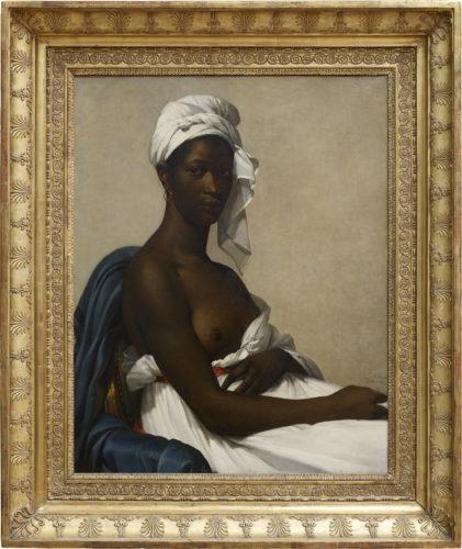15. Marie-Guillemine Benoist, Portrait d'une femme noire, Madeleine, Salon de 1800 © Musée du Louvre, dist. RMN-Grand Palais / Angèle Dequier