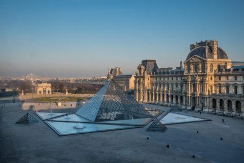 Cour Napoleon et Pyramide  2013 Musee du Louvre  Olivier Ouadah-jpg