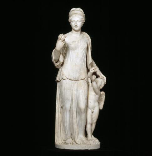 10. Groupe de Vénus et Cupidon, 11e siècle après J.-C.(?) © Musée du Louvre, dist. RMN-Grand Palais / Daniel Lebée et Carine Deambrosis