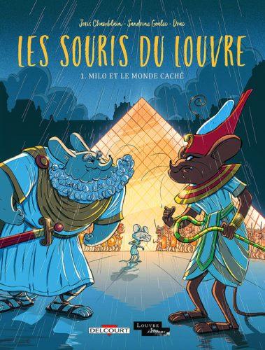 Les Souris du Louvre  © musée du Louvre éditions / Delcourt