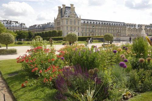 Vue du jardin des Tuileries  © 2019 musée du Louvre / Antoine Mongodin