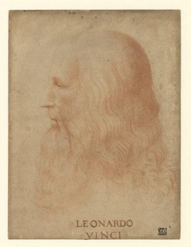 23. Attribué à Francesco Melzi, Portrait de Léonard de Vinci © Veneranda Biblioteca Ambrosiana / Gianni Cigolini / Mondadori Portfolio