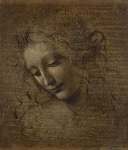 20. Léonard de Vinci, Tête de femme dite La Scapigliata © Licensed by Ministero dei Beni e delle Attività culturali - Complesso Monumentale della Pilotta-Galleria Nazionale