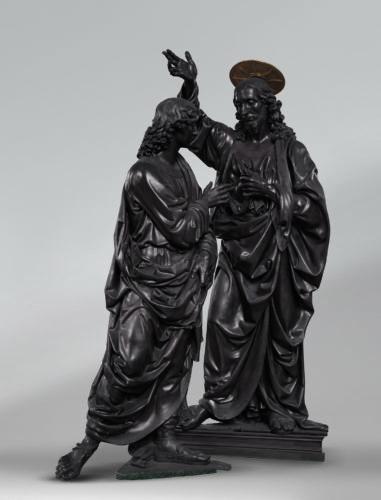 1. Andrea del Verrocchio, Le Christ et saint Thomas, ou, L'Incrédulité de saint Thomas © Louis Frank