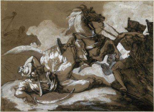 2. Théodore Géricault (1791-1824), Épisode de la campagne d'Égypte, Paris, musée du Louvre © RMN-Grand Palais (musée du Louvre) / Michèle Bellot.