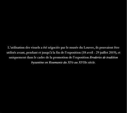10- Voile funéraire de Jérémie Mogila ©Monastère de Sucevița, Archevêché de Suceava et Rădăuți  –jpg