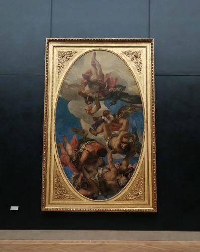 Veronese, Jupiter Expelling the Vices, 1556 © Musée du Louvre, 2019 / Yoko Sfoggia