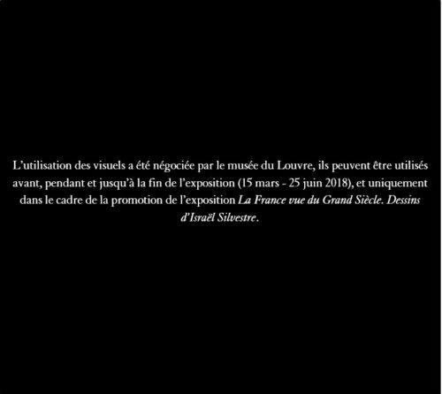 10. Israël Silvestre, Vue de la fontaine de la Renommée dans le parc du château de Versailles (recto), 1680 © RMN-Grand Palais (musée du Louvre) / Michel Urtado-jpg