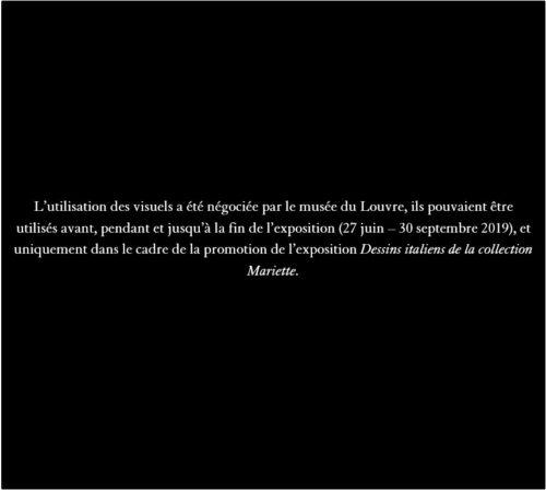 3. Giuseppe Cesari dit le Cavalier d'Arpin, Homme drapé, vu de dos, s'appuyant sur son bras droit © Musée du Louvre, dist. RMN - Grand Palais / Suzanne Nagy-jpg