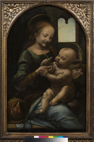 4. Léonard de Vinci, Vierge à l'Enfant, dite Madone Benois © The State Hermitage Museum, St Petersburg