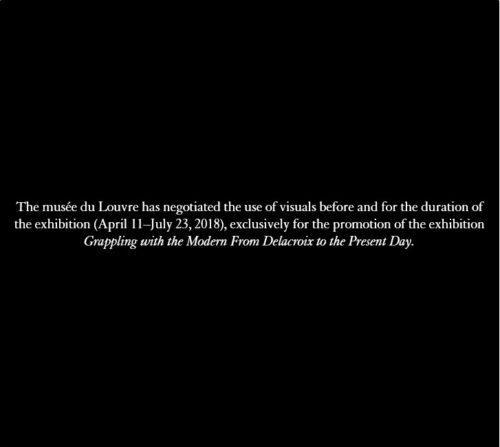 2-Eugène Delacroix, La Lutte de Jacob avec l'ange 1854-1860. Paris musée national Eugène-Delacroix © RMN-Grand Palais (musée du Louvre) / Mathieu Rabeau-jpg