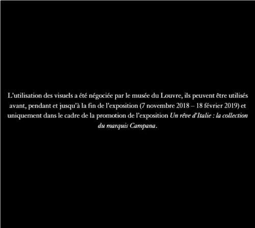 22. D'après Antonio Rossellino (1427-1479), La Vierge et l'Enfant Madone aux candélabres), Stuc peint, Paris, Musée du Louvre, département des Sculptures, Camp 20 © RMN-Grand Palais-jpg