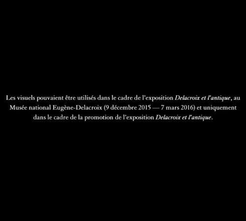 13. Eugène Delacroix, Feuille d'études pour La Grèce sur les ruines de Missolonghi © RMN-Grand Palais (musée du Louvre) / Hervé Lewandowski-jpg