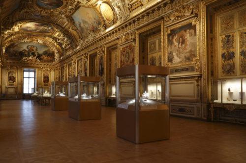 1. Vue de la galerie d'Apollon © 2020 Musée du Louvre / Antoine Mongodin–jpg