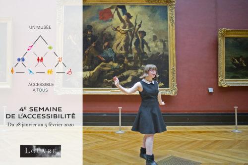 Semaine de l'accessibilité au Louvre  © Elodie Perriot-jpg