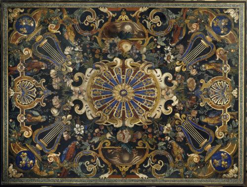 17. Plateau en mosaïque de marbres et pierres dures © RMN - Grand Palais (Musée du Louvre) / Droits réservés-jpg