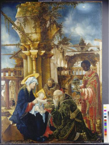 9- Albrecht Altdorfer, L'Adoration des Mages © Städel Museum – U- Edelmann – ARTOTHEK-jpg