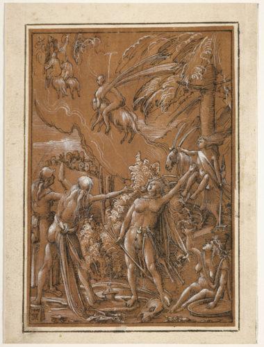 15- Albrecht Altdorfer, Le départ pour le sabbat © RMN-Grand Palais (musée du Louvre) / Michel Urtado-jpg
