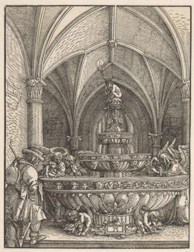 6- Albrecht Altdorfer, Sainte Famille à la fontaine © RMN-Grand Palais (musée du Louvre) / Michel Urtado-jpg
