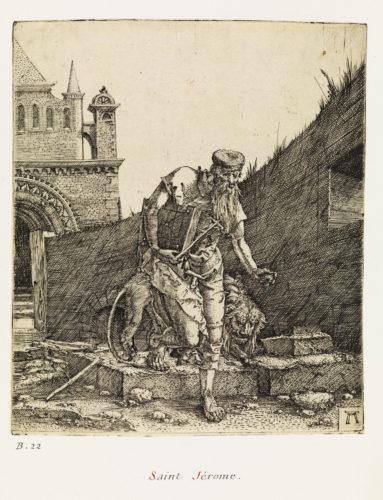 15- Albrecht Altdorfer, Saint Jérôme à la muraille © Musée du Louvre, dist- RMN – Grand Palais / Philippe Fuzeau-jpg