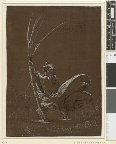 8- Albrecht Altdorfer, Saint Christophe © Londres, The Trustees of the British Museum-jpg