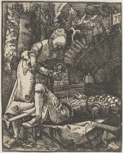 17- Albrecht Altdorfer, Pyrame et Thisbé © RMN-Grand Palais (musée du Louvre) / Tony Querrec-jpg