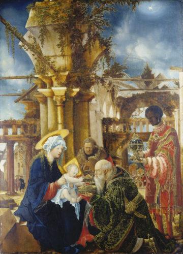 Albrecht Altdorfer, L'Adoration des Mages © Städel Museum – U- Edelmann – ARTOTHEK-jpg