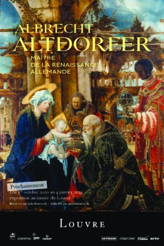 Poster Albrecht Altdorfer exhibition-jpg