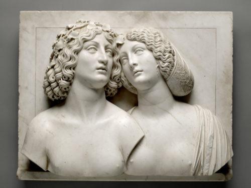 1. Tullio Lombardo, Bacchus et Ariane, vers 1505-1510, Kunsthistorisches Museum © Kunsthistorischesmuseum. Vienne