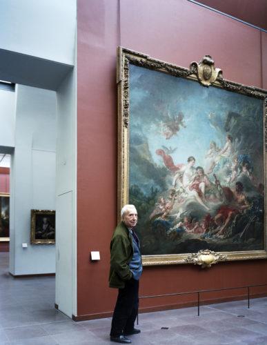 Marc Fumaroli au Louvre © Jean-Philippe Mesguen-jpg
