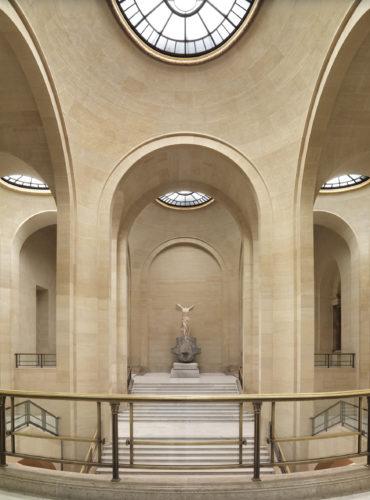 The Samothrace's staircase © 2014 Musée du Louvre / Philippe Fuzeau-jpg