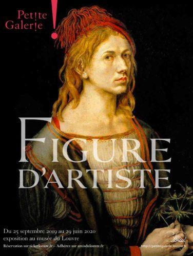 Affiche_Louvre_Petite Galerie_Figure d'artiste-jpg