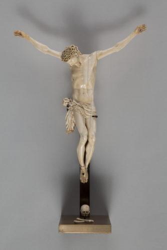 Christ en croix Rome vers 1600Don Marc Fumaroli  Musee du Louvre dist- RMN – Grand Palais  Harry Brejat-jpg