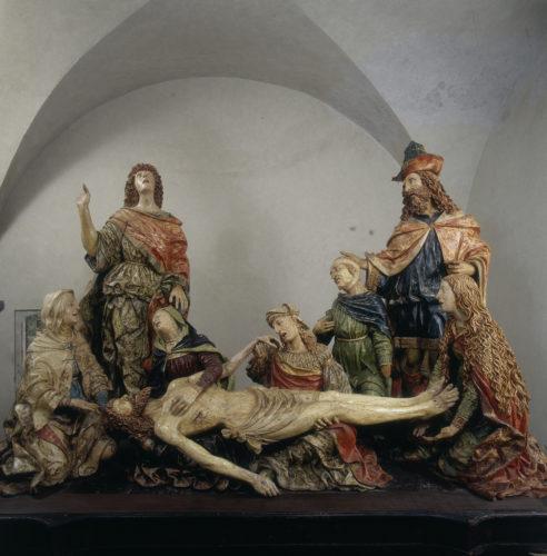 17- Giovanni Angelo Del Maino- Deploration sur le Christ mort 1515-20c Bellano  Archives Alinari Florence- Dist RMN Grand Palais  Luciano Pedicini-jpg