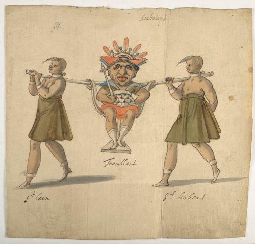 2. Daniel Rabel etudes costumes ballets danses par Louis XIII au Louvre  CHRISTIE S IMAGE-jpg