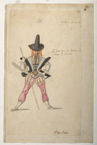 7. Daniel Rabel etudes costumes ballets danses par Louis XIII au Louvre  CHRISTIE S IMAGE-jpg