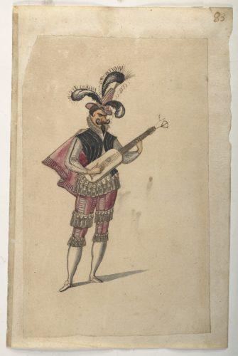 6. Daniel Rabel etudes costumes ballets danses par Louis XIII au Louvre  CHRISTIE S IMAGE-jpg