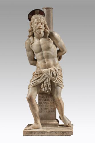 24- Cristoforo Solari Cristoforo Solari dit il Gobbo vers 1470  Milan  1524- Christ a la colonne  Veneranda Fabbrica del Duomo di Milano-jpg