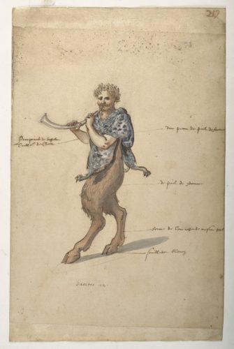 5. Daniel Rabel etudes costumes ballets danses par Louis XIII au Louvre  CHRISTIE S IMAGE-jpg