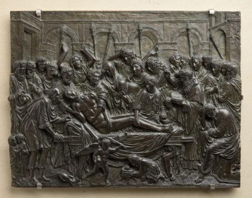 16- Andrea Briosco dit Riccio- La mise au tombeau   RMN – Grand Palais Musee du Louvre  Stephane Marechalle-jpg